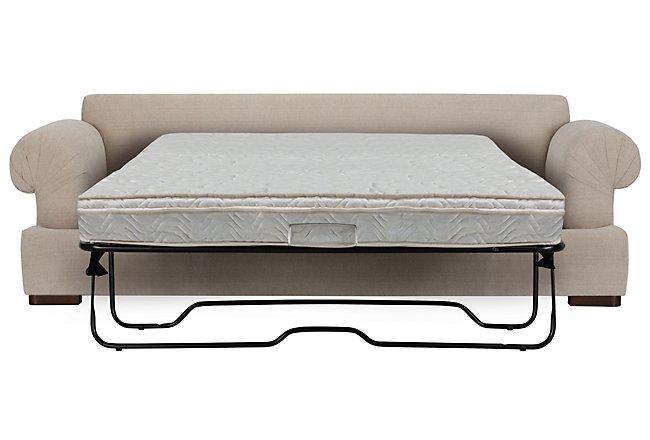 Belair Light Taupe Fabric Innerspring Sleeper