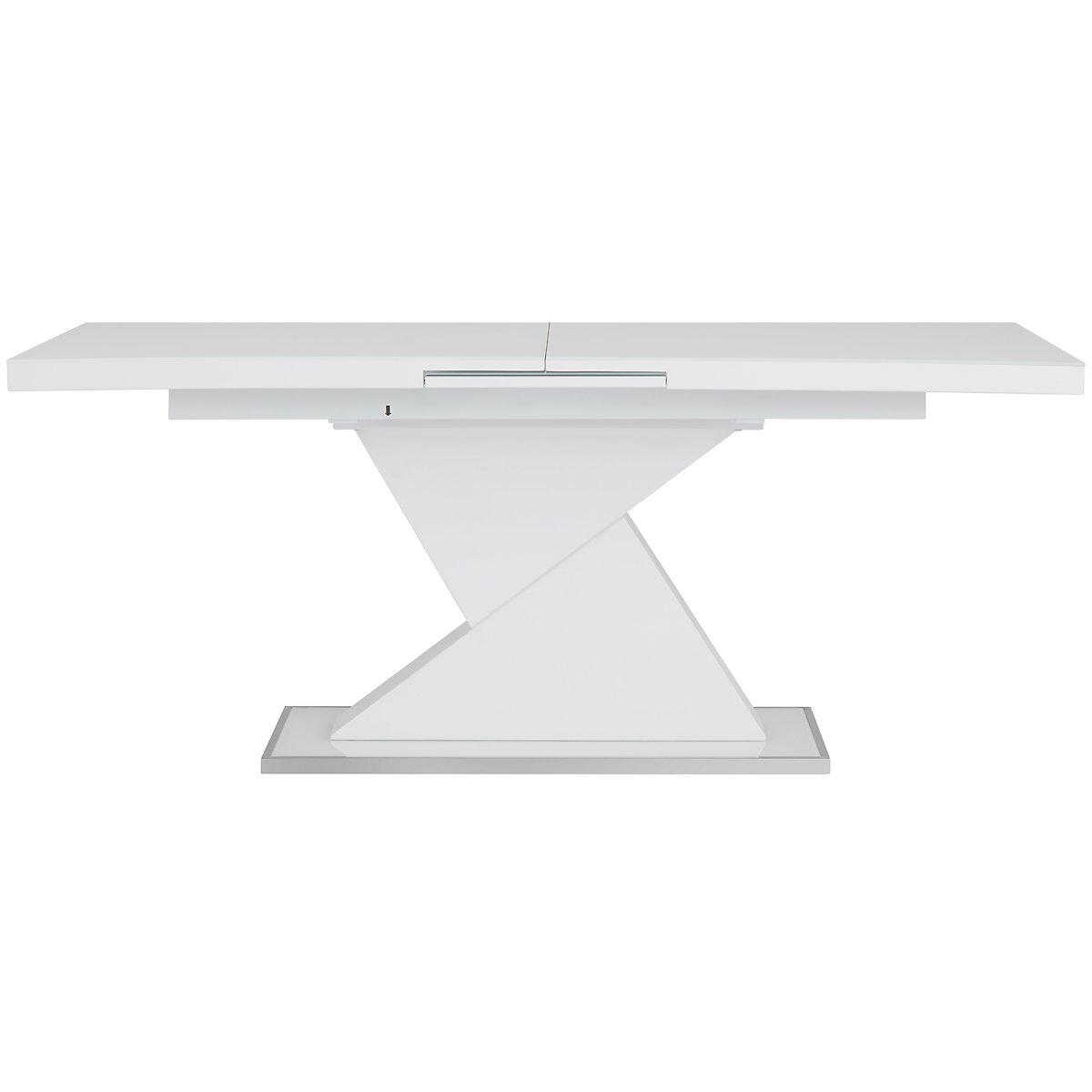 Drake White Rectangular Table
