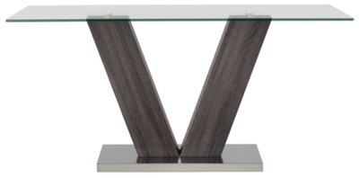 Kendall Dark Tone Rectangular Table