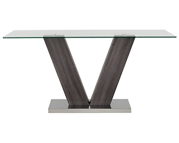 Kendall Dark Tone Rectangular Table