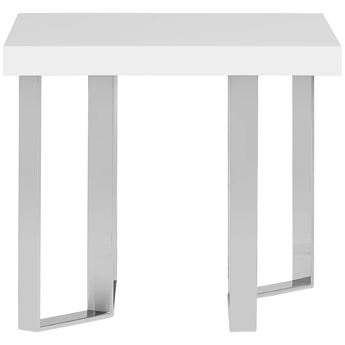 Axel White End Table