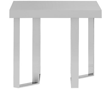 Axel Gray End Table