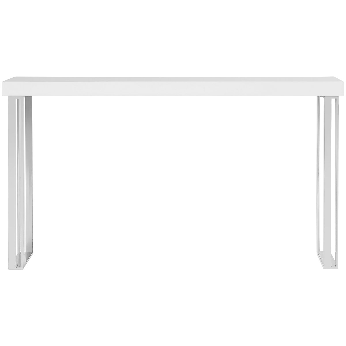 axel white sofa table. city furniture axel white sofa table