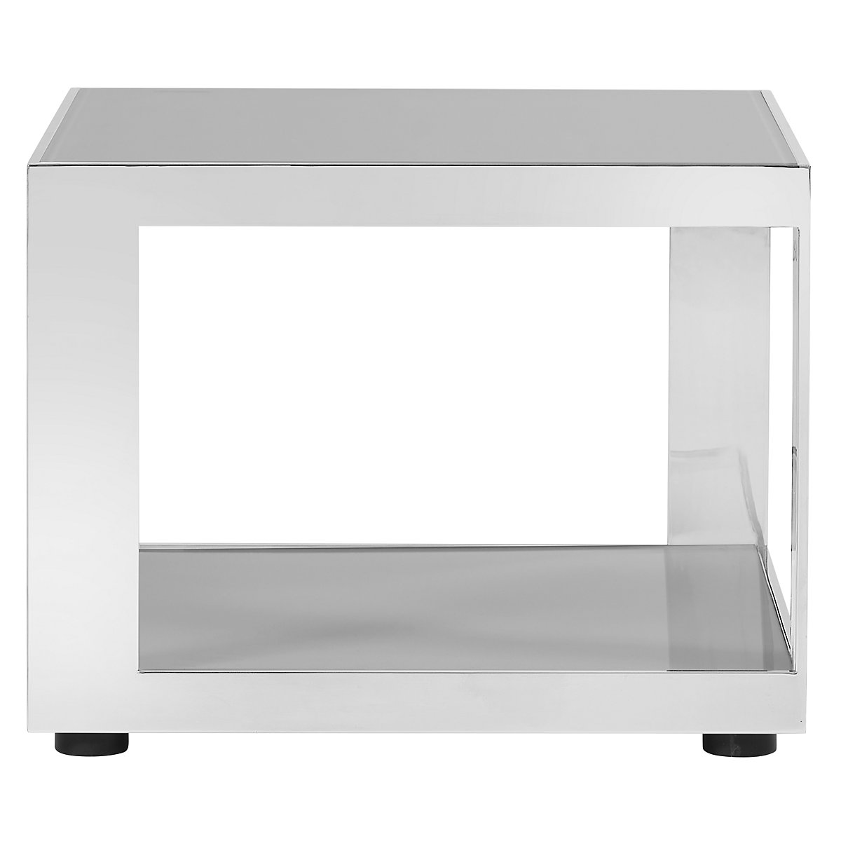 Harley Gray Metal End Table