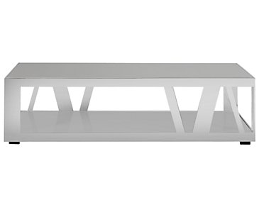 Harley Gray Rectangular Coffee Table