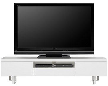 "Axel White 78"" TV Stand"