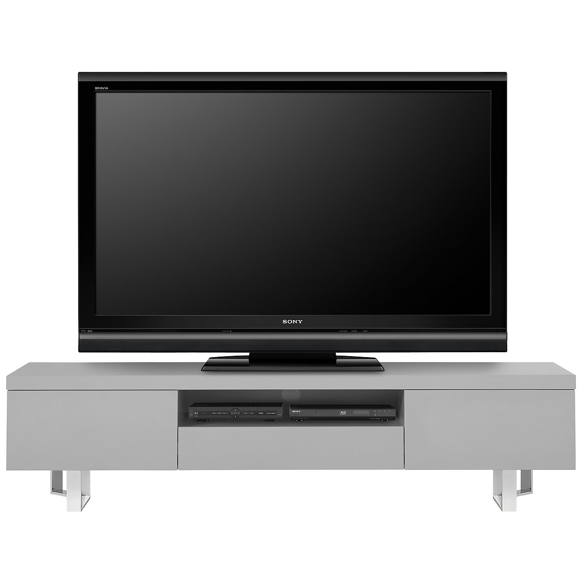 City Furniture Axel Gray 78 Tv Stand