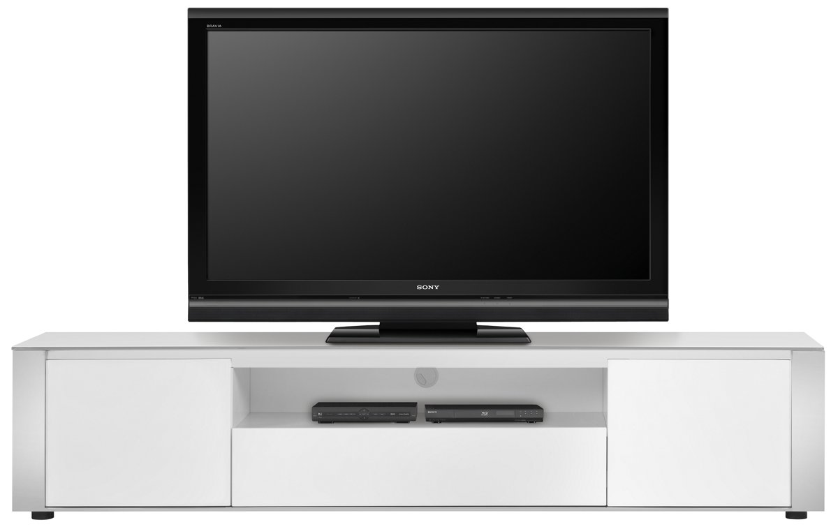 Harley White 86 Tv Stand