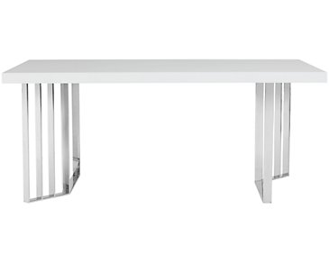 Axel White Rectangular Table
