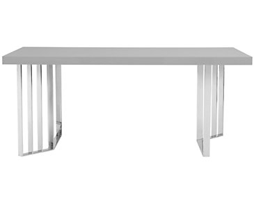 Axel Gray Rectangular Table