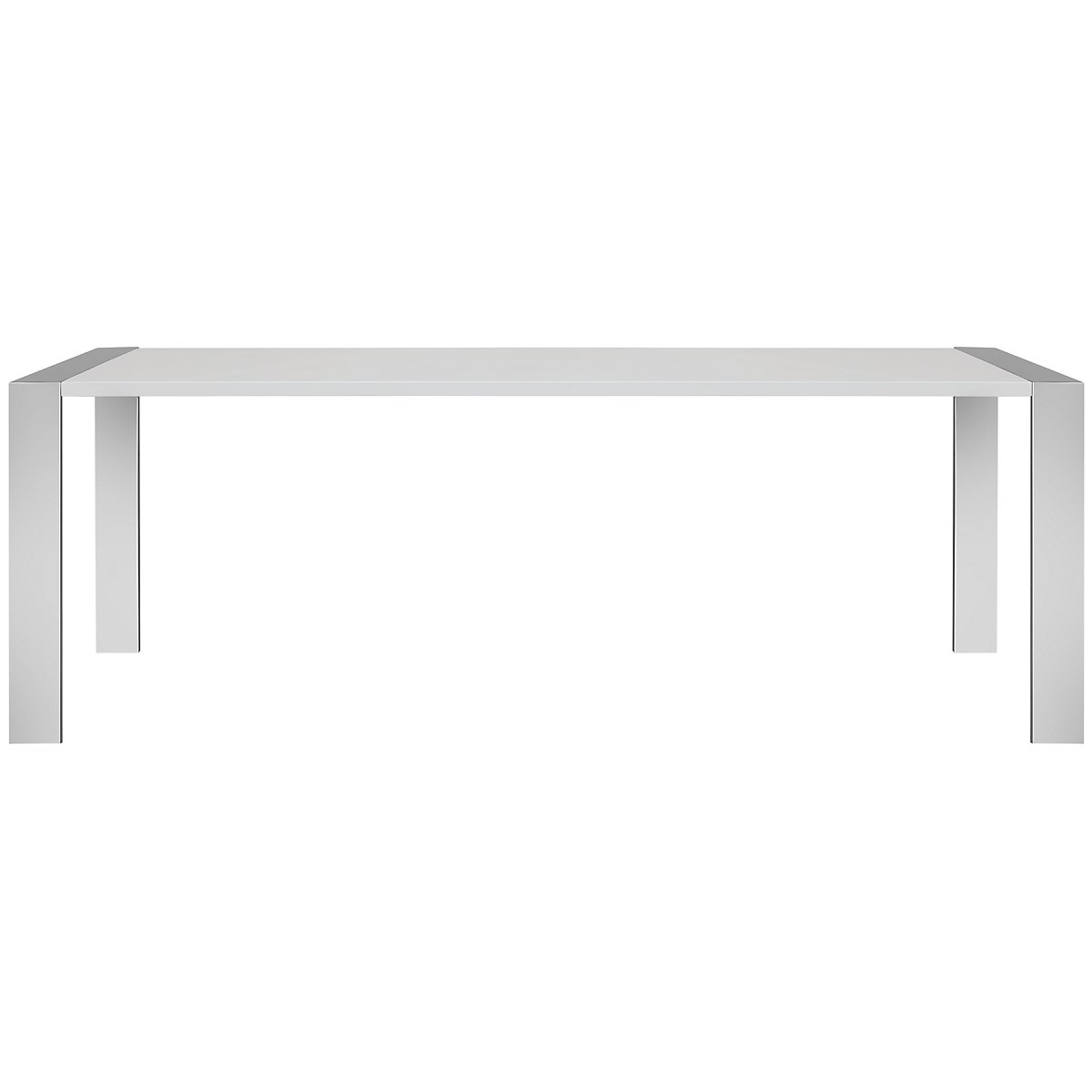 Neo White Rectangular Table