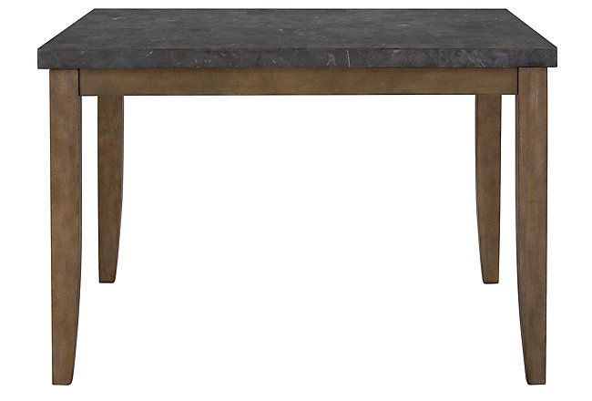 Emmett Square Stone High Dining Table