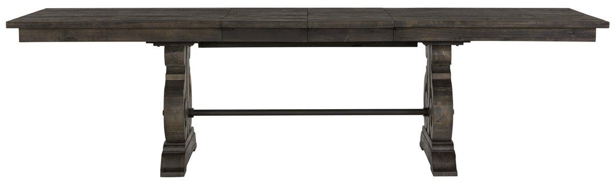 Sonoma Dark Tone Wood Trestle Table