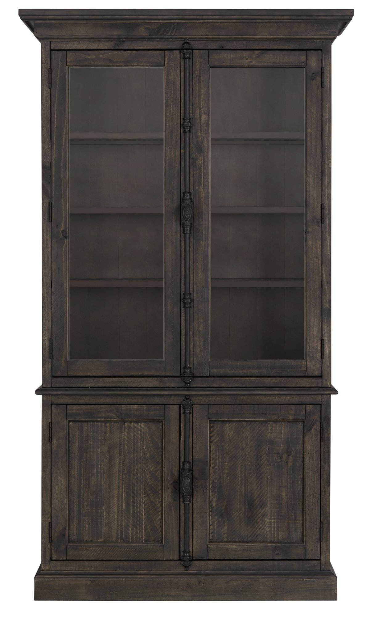 Sonoma Dark Tone Wood China Cabinet