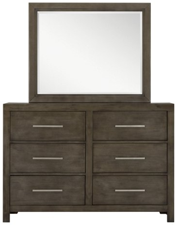 Bedroom Furniture Omaha city furniture: omaha gray upholstered panel bed