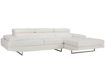 City Furniture Loki Dk Gray Microfiber Storage Ottoman