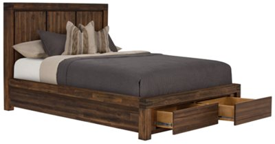 Amazing Holden Mid Tone Platform Storage Bed