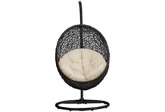 Grate Light Beige Hanging Chair