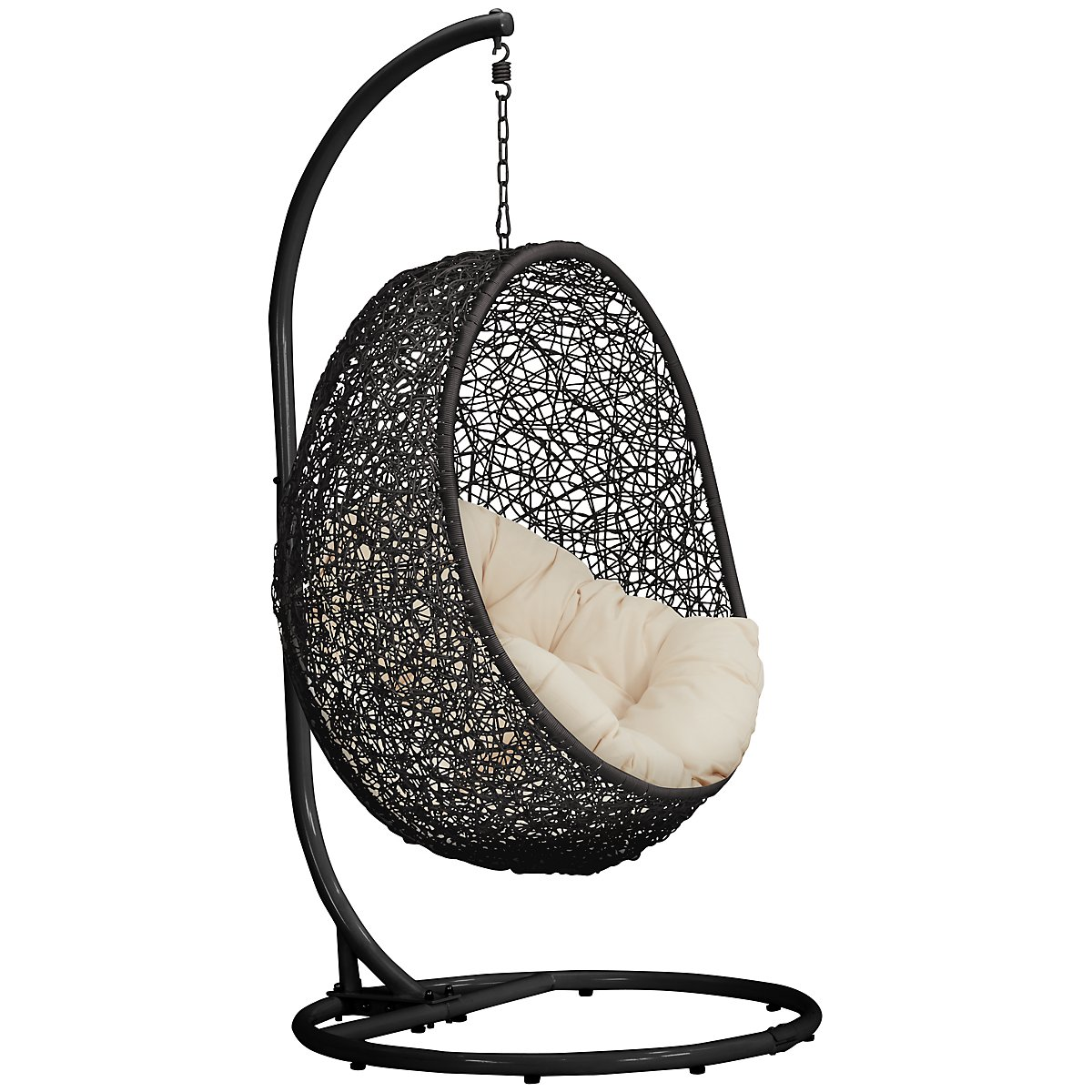 Grate Light Beige Hanging Chair