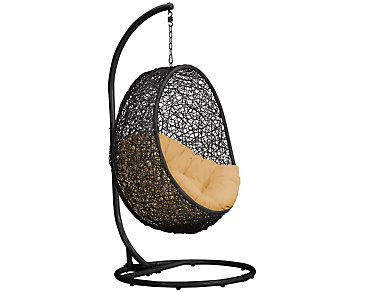 Grate Yellow Hanging Chair