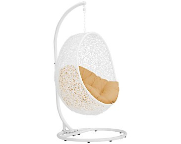 Orchid Yellow Hanging Chair