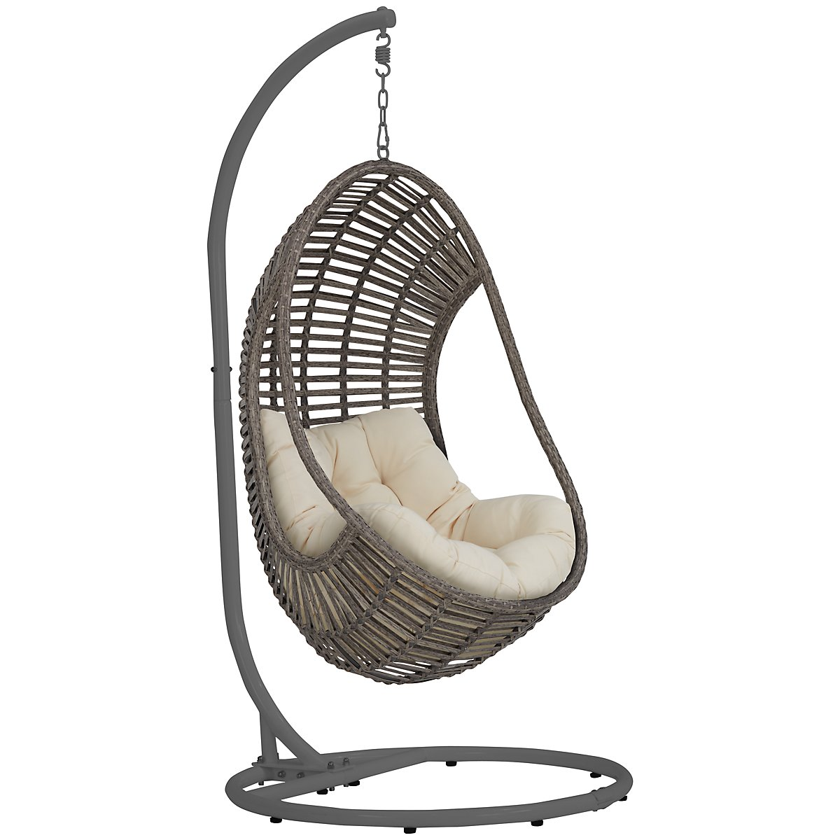 Cali Light Beige Hanging Chair