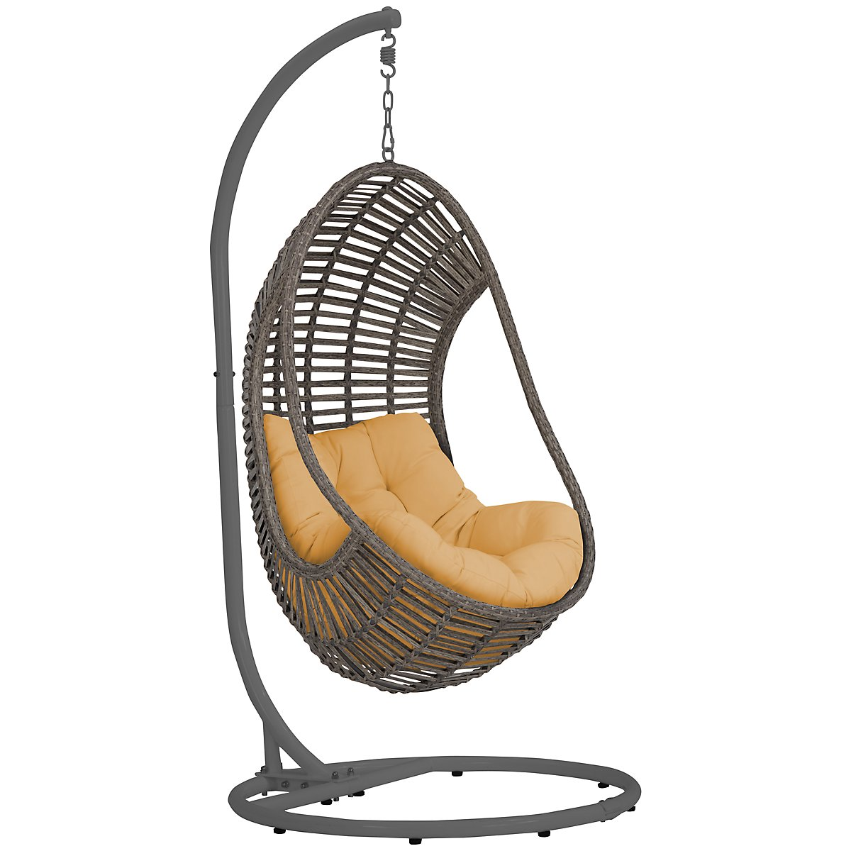 Cali Yellow Hanging Chair