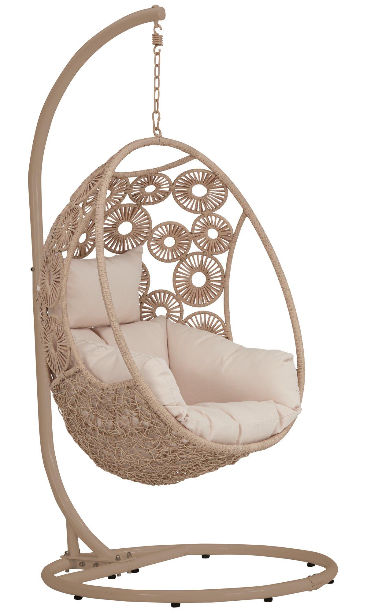 Indio Light Tone Hanging Chair