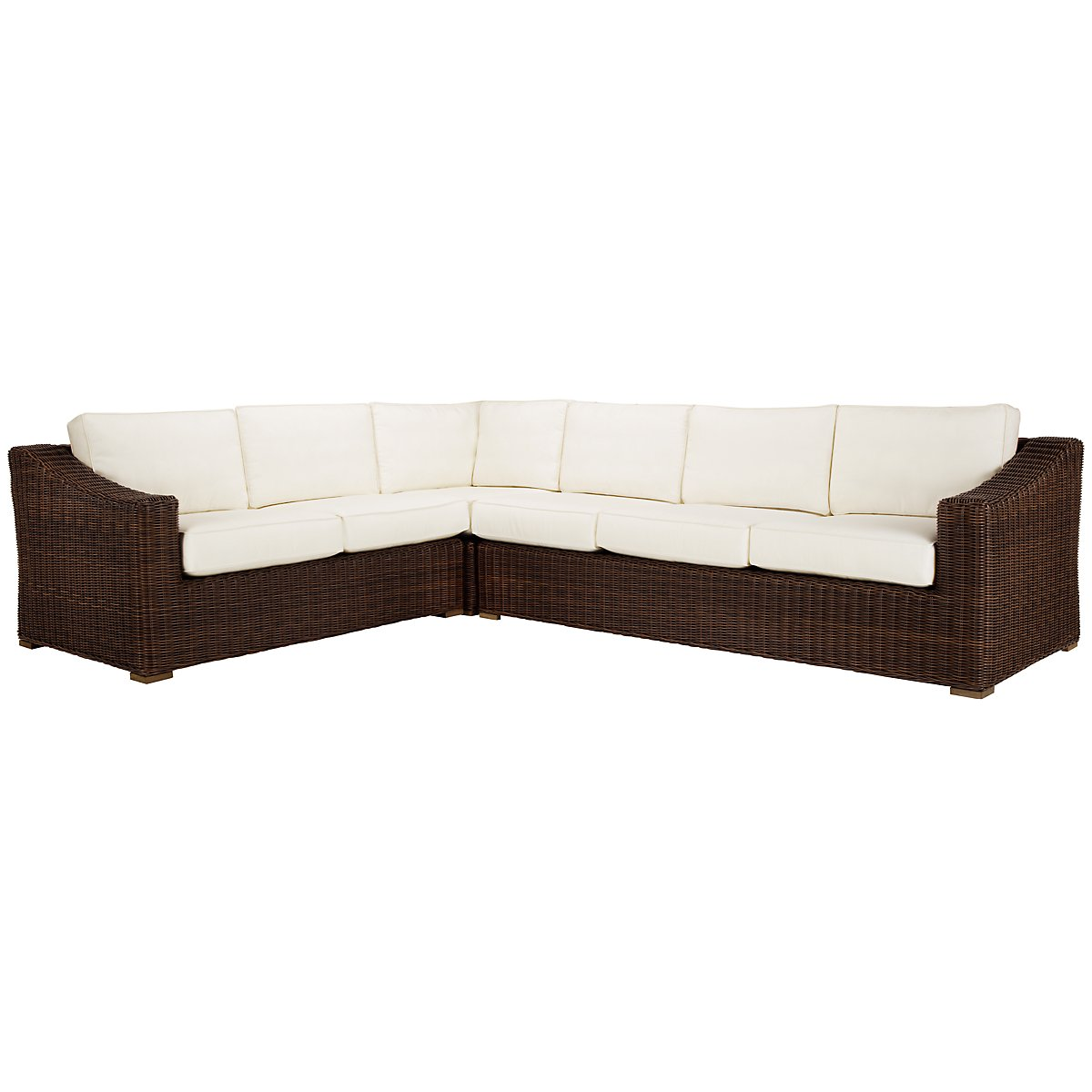 Canyon3 Dark Brown Large Right Sectional
