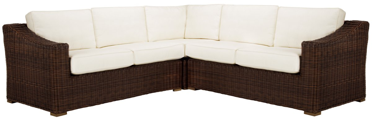 Canyon3 Dark Brown Small Two-Arm Sectional