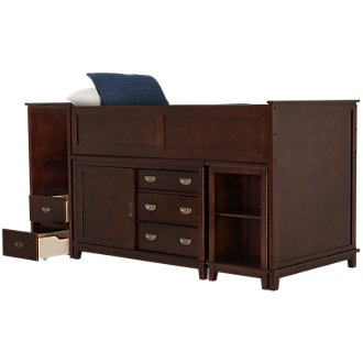 Chad Dark Tone Loft Bed