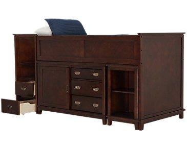 Chad Dark Tone Loft Bed