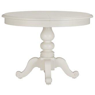 Quinn White Round Table