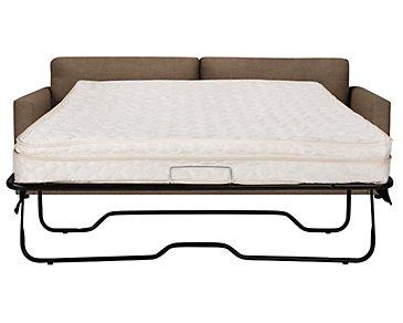 Macall Brown Fabric Innerspring Sleeper