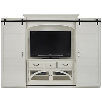 Hancock White Entertainment Wall