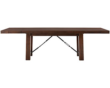 Napa Dark Tone Rectangular Table