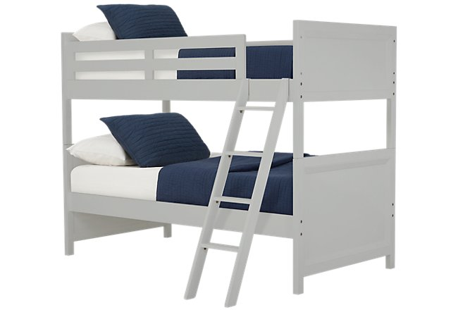 Ryder Gray Wood Bunk Bed