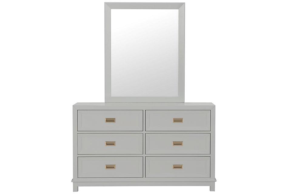 Ryder Gray  Dresser & Mirror
