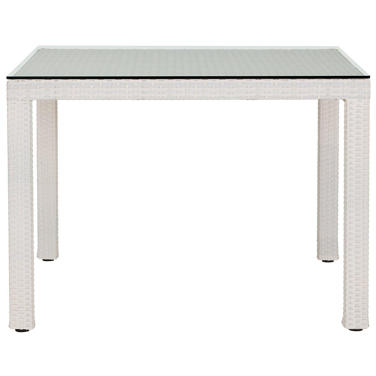City furniture bahia white 40 square table