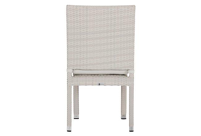 Bahia White Side Chair