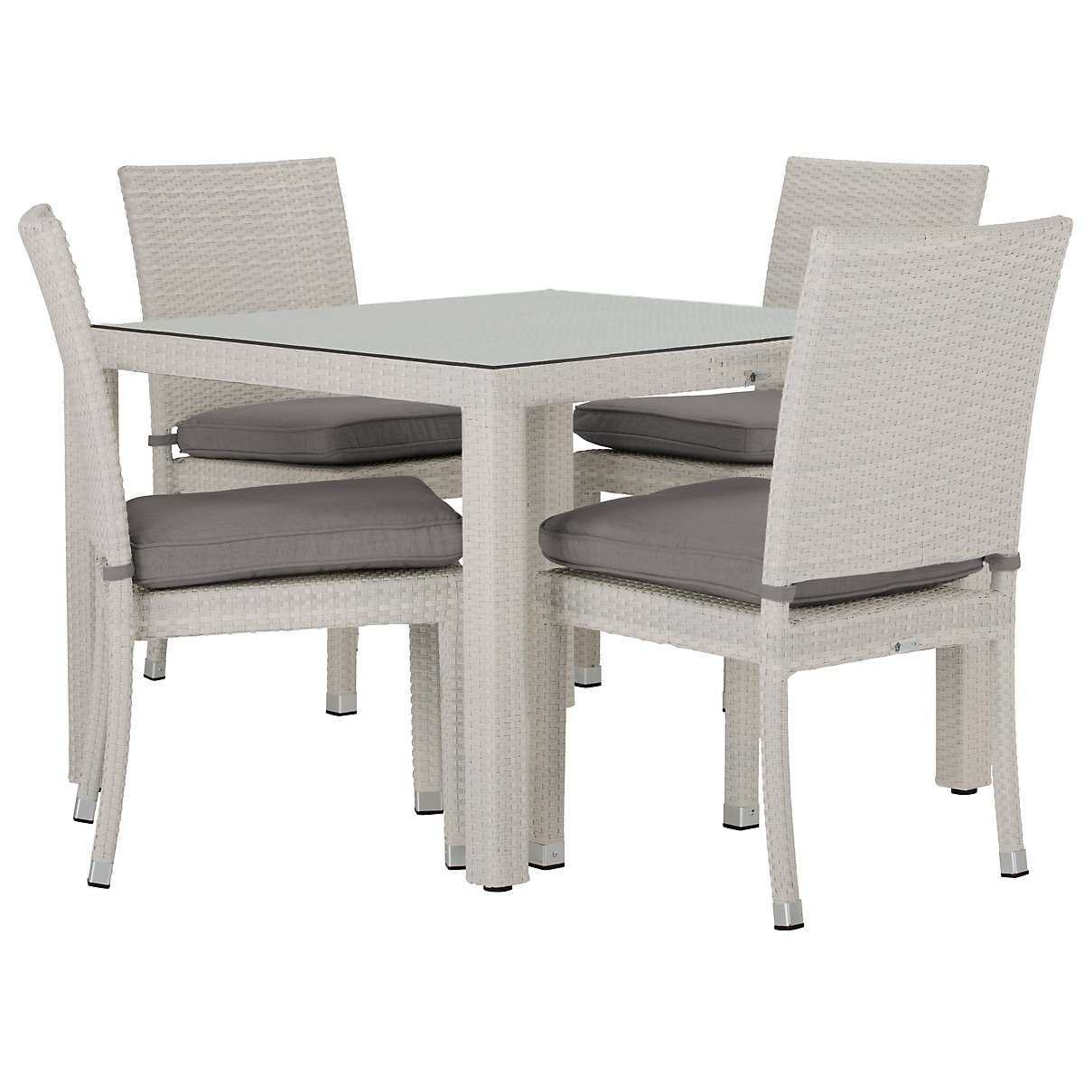 City furniture bahia gray 40 square table 4 chairs bahia gray 40 square table 4 chairs watchthetrailerfo