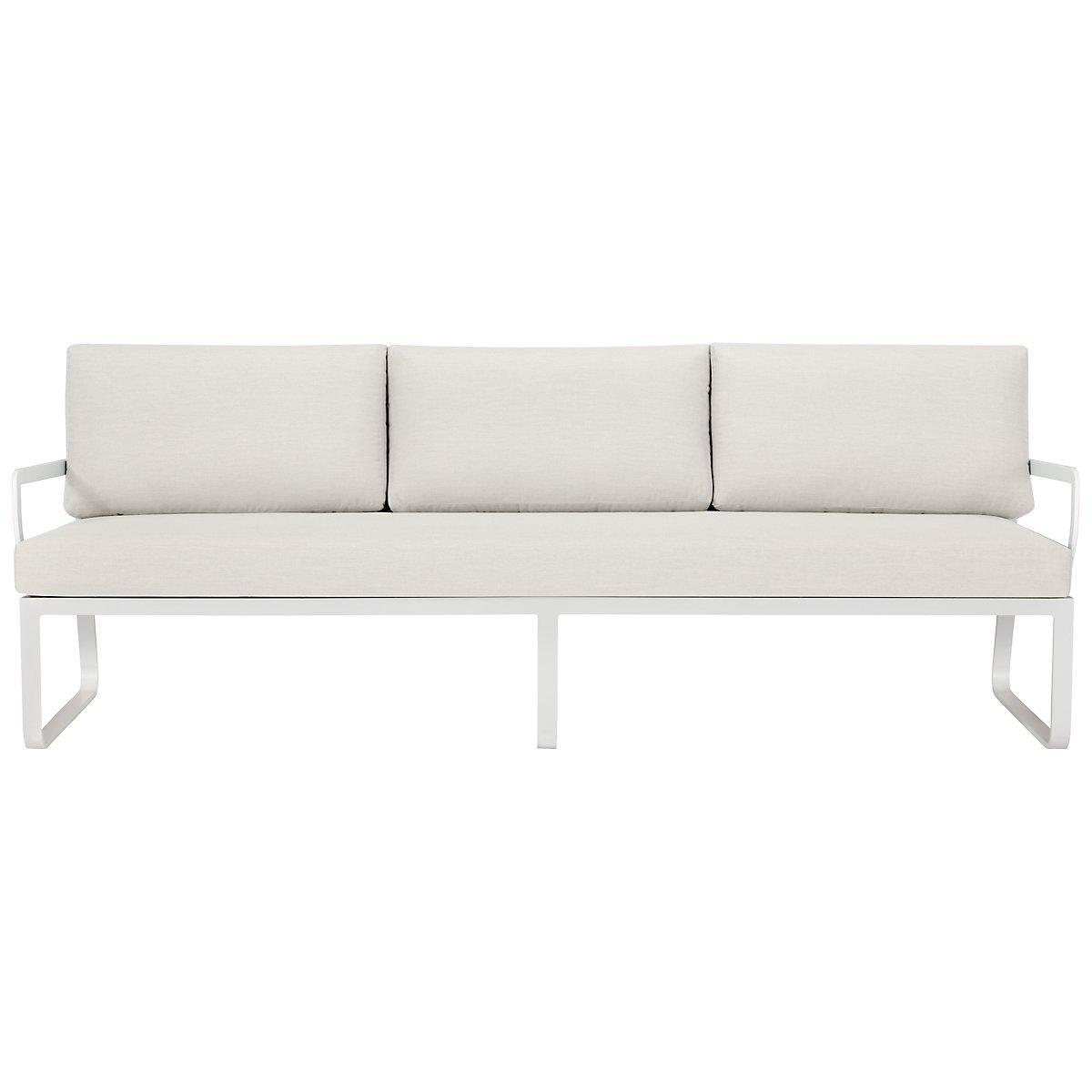 Ibiza White Sofa