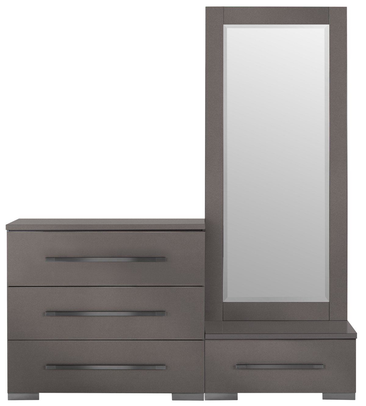 Dimora Gray Wood Wardrobe