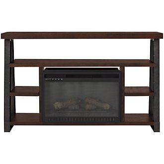 "Dakota Dark Tone 54"" Fireplace"