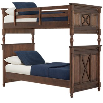Big Sur Dark Tone Bunk Bed