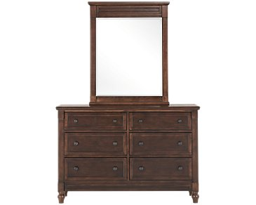 Big Sur Dark Tone Dresser & Mirror