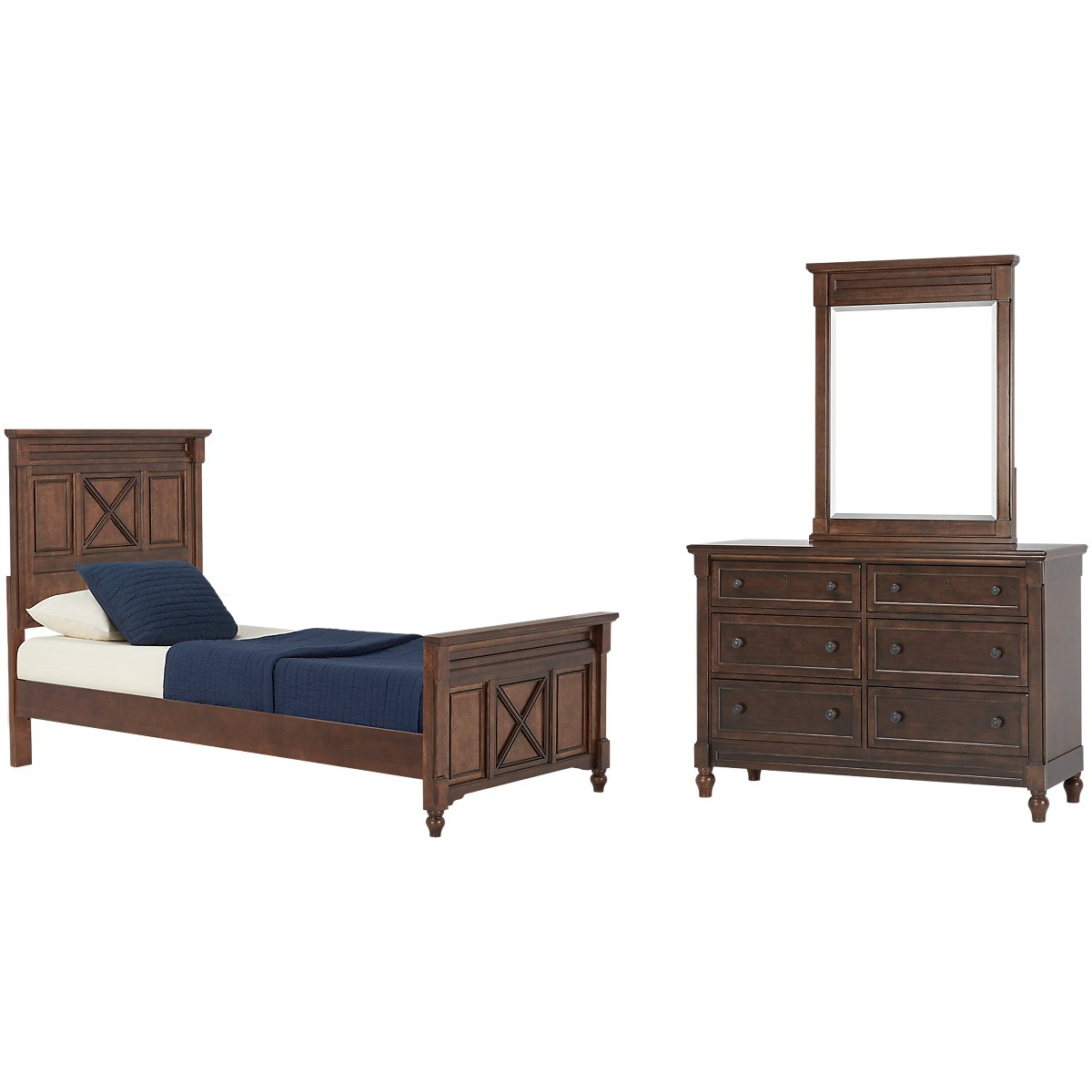 Big Sur Dark Tone Panel Bedroom