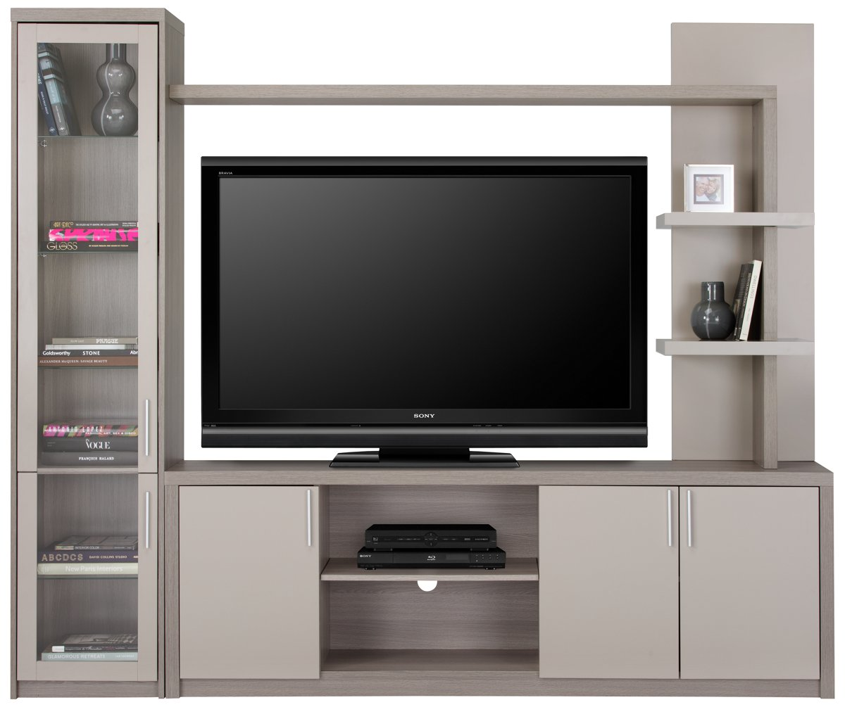 City Furniture: Caelan Gray Entertainment Wall