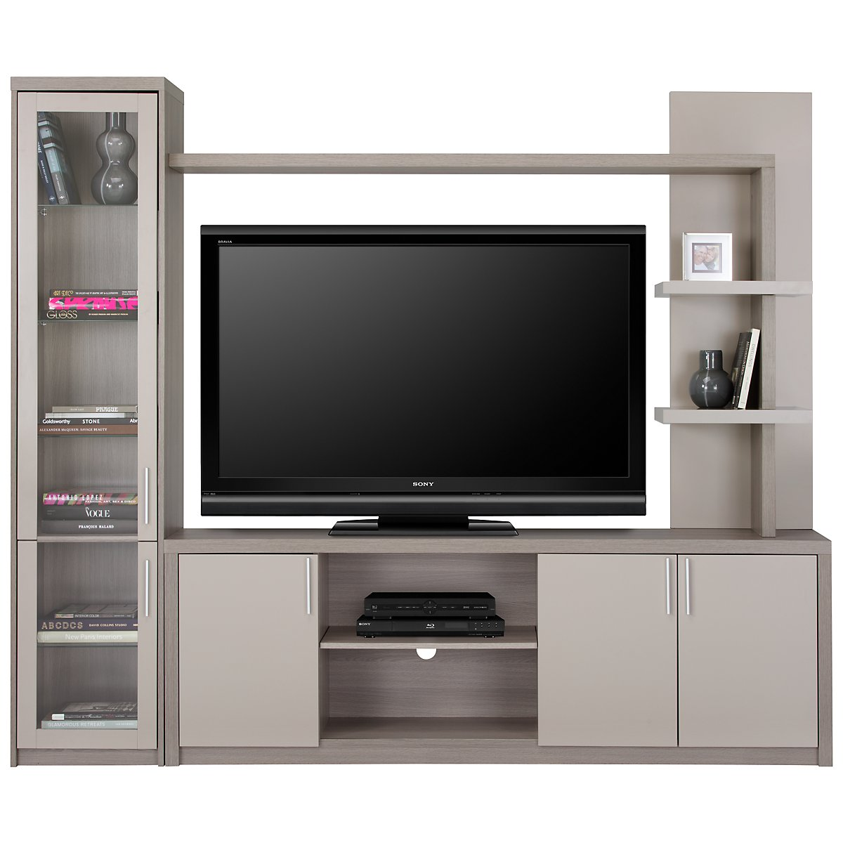 Caelan Gray Entertainment Wall