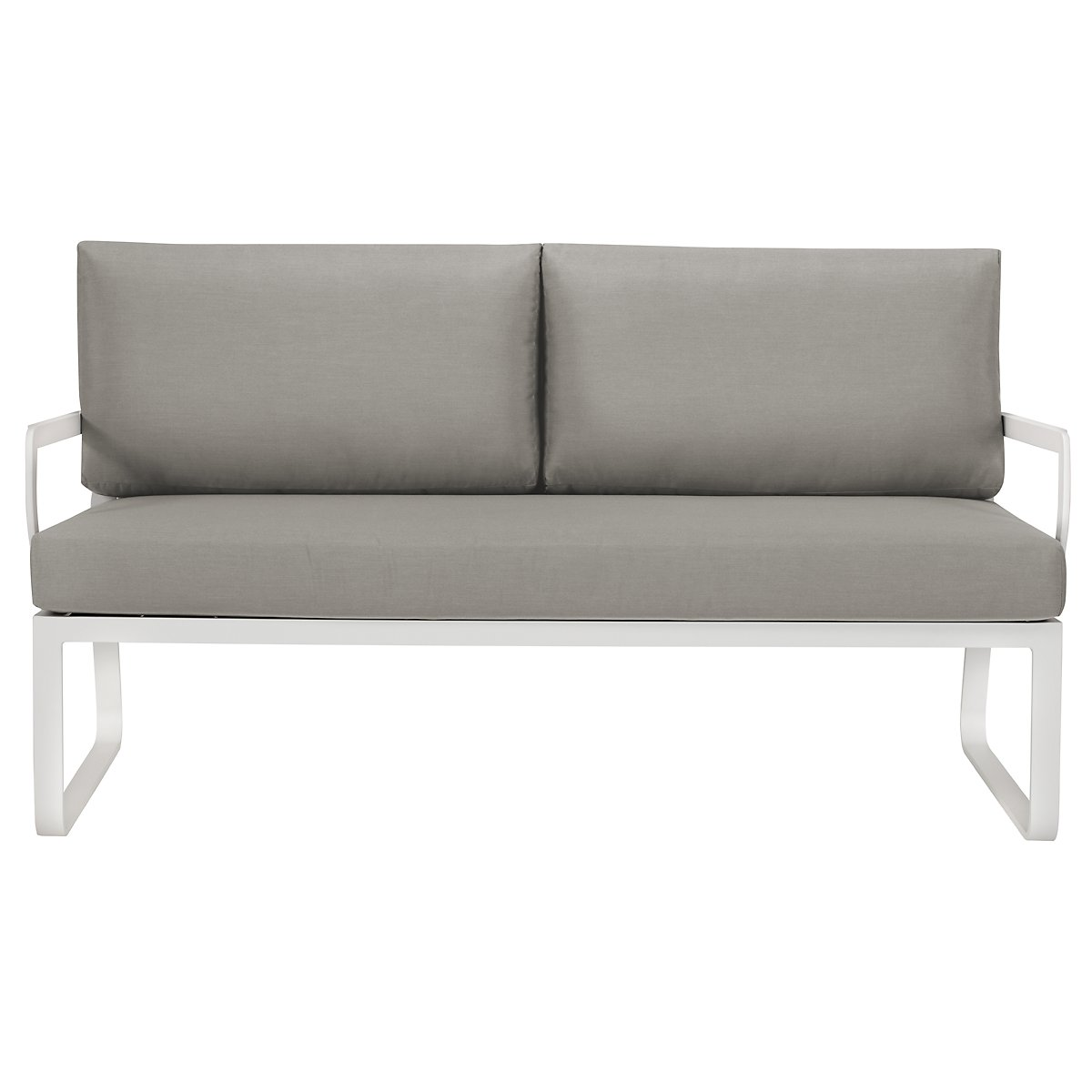 Ibiza Gray Loveseat